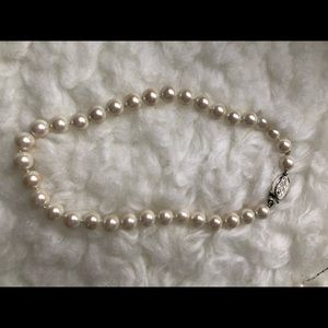 Ralph Lauren Faux Chocker Pearls